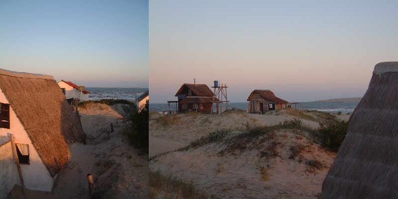 huts,Valizas, Rocha Uruguay