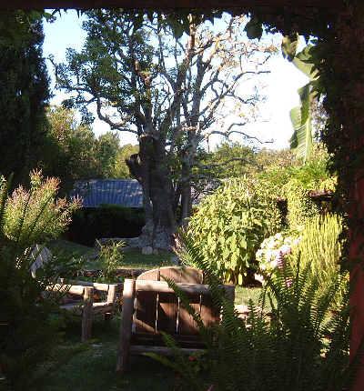 estancia de turismo jardin