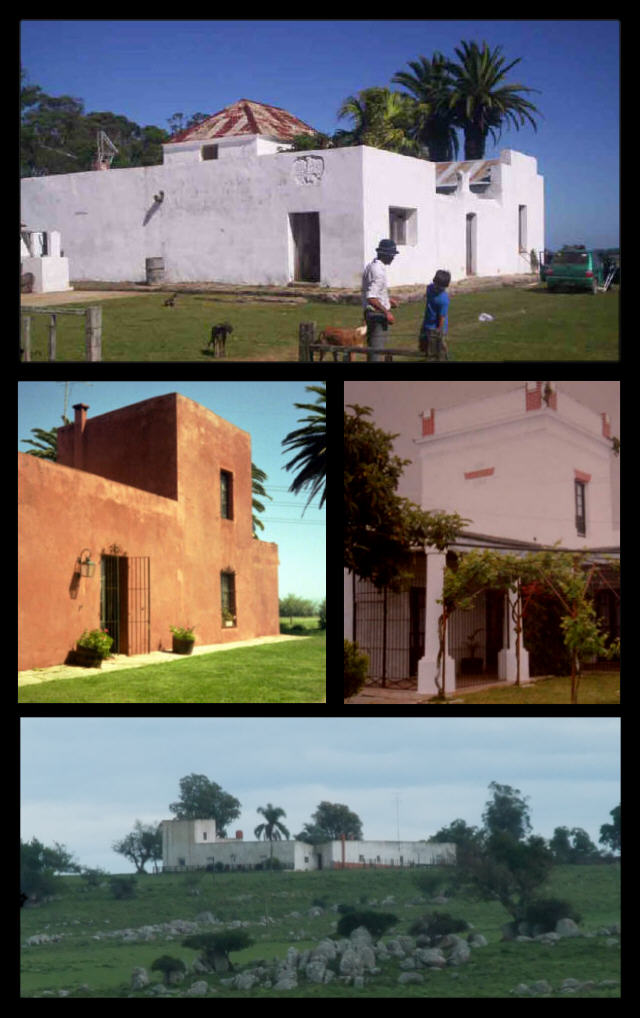 estancia architecture 1800-1870