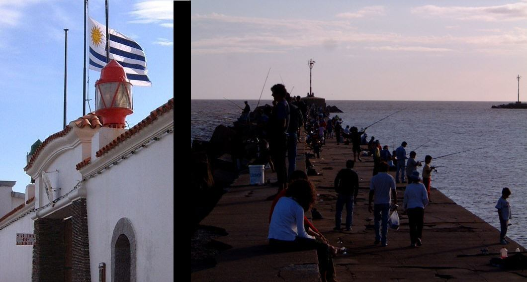 Montevideo harbour
