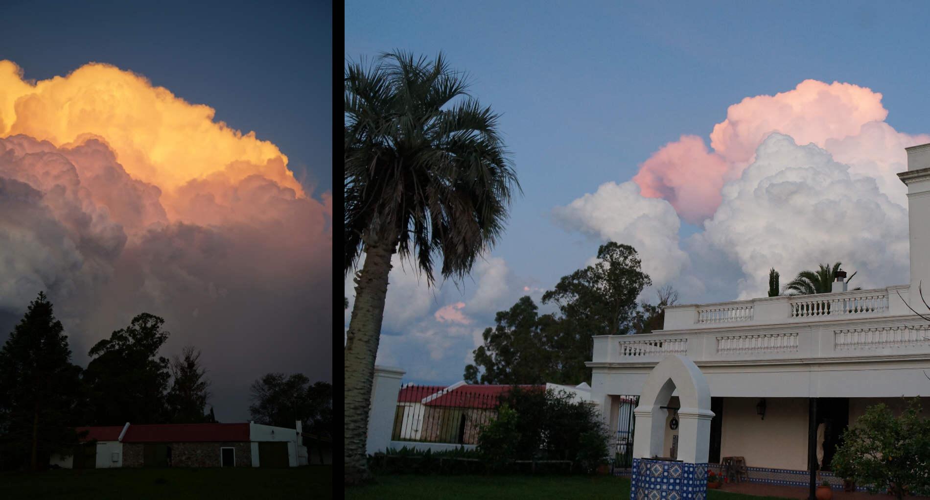 uruguay countryside thunderstorm