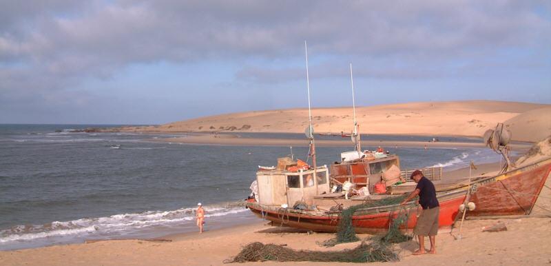 Valizas, Rocha, fisherman